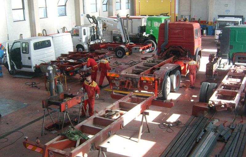 carrozzeria industriale officina