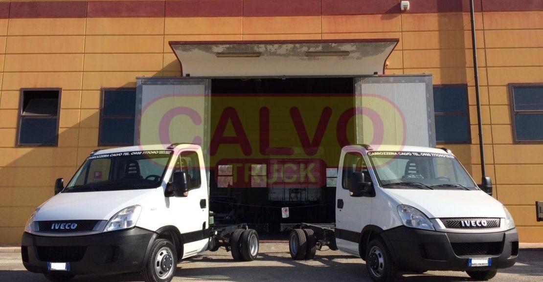 Iveco daily a telaio cabinato