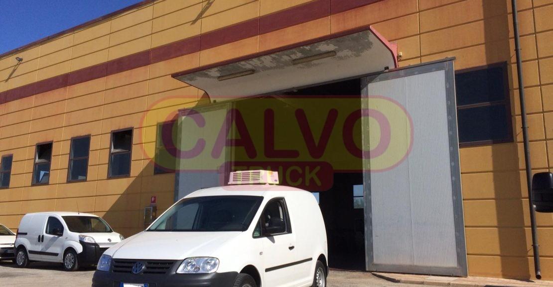 Volkswagna Caddy isotermico frigo