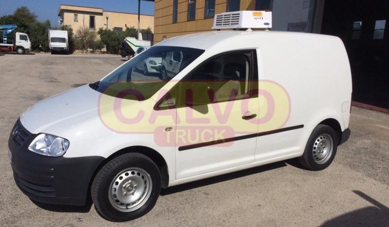 Volkswagna Caddy isotermico frigo lato sx