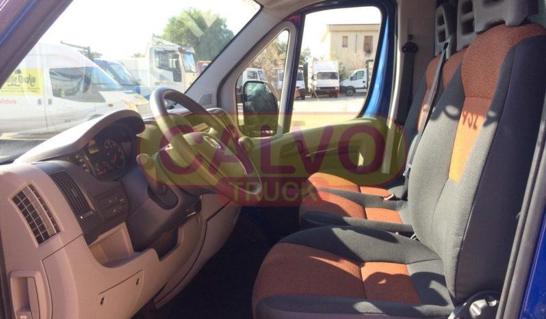 Fiat Ducato cassone fisso e centina cabina interna
