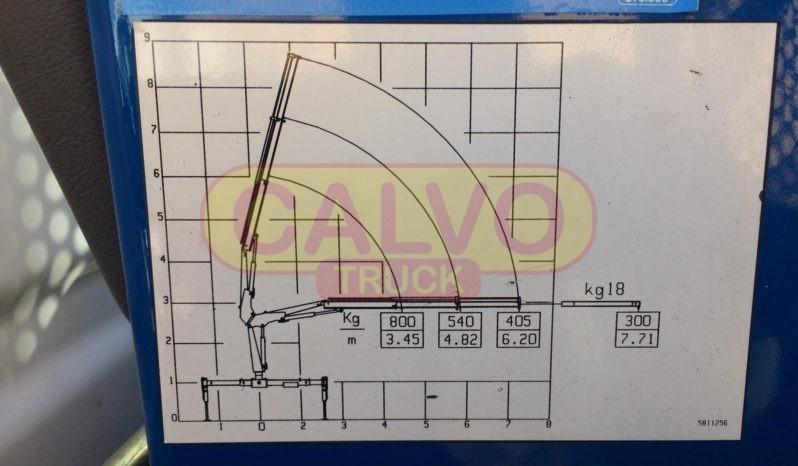 Iveco Daily 35C11 cassone fisso e gru diagramma