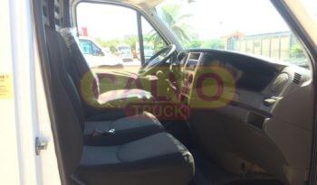 Iveco Daily 35C13 cassone fisso con gru tappezzeria interna