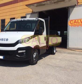 Iveco Daily 35C15 cassone fisso Euro 5 anno 2015